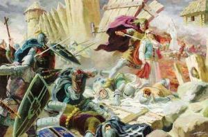 Destruction of the Baltic Pagan Temples During the Northern Crusades