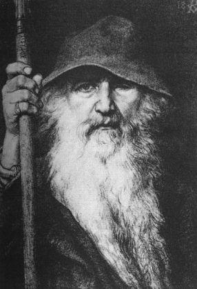 409px-Georg_von_Rosen_-_Oden_som_vandringsman,_1886_(Odin,_the_Wanderer)